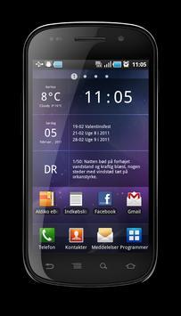 Glass Widgets Classic apk screenshot