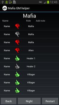 Mafia GM helper screenshot 1