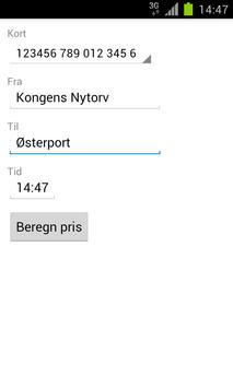 Rejsestatus screenshot 2