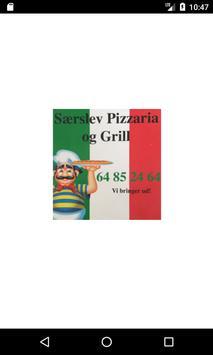 Særslev Pizza & Grill poster
