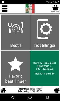 Særslev Pizza & Grill screenshot 1
