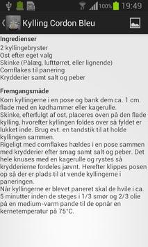 Frk. Lunds kogebog screenshot 4