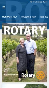 Rotary Norden poster