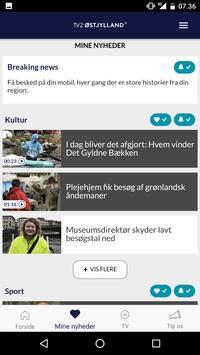 TV2 ØSTJYLLAND Screenshot 4