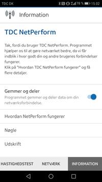 TDC NetPerform apk screenshot