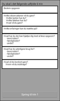 Refleksionsmodel poster