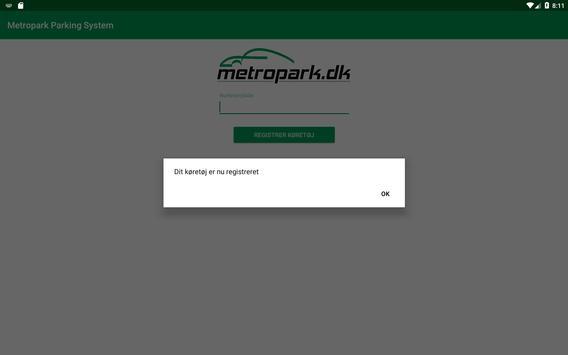 Metropark Parking System screenshot 4