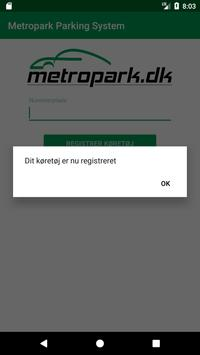 Metropark Parking System screenshot 2