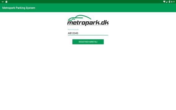 Metropark Parking System screenshot 3