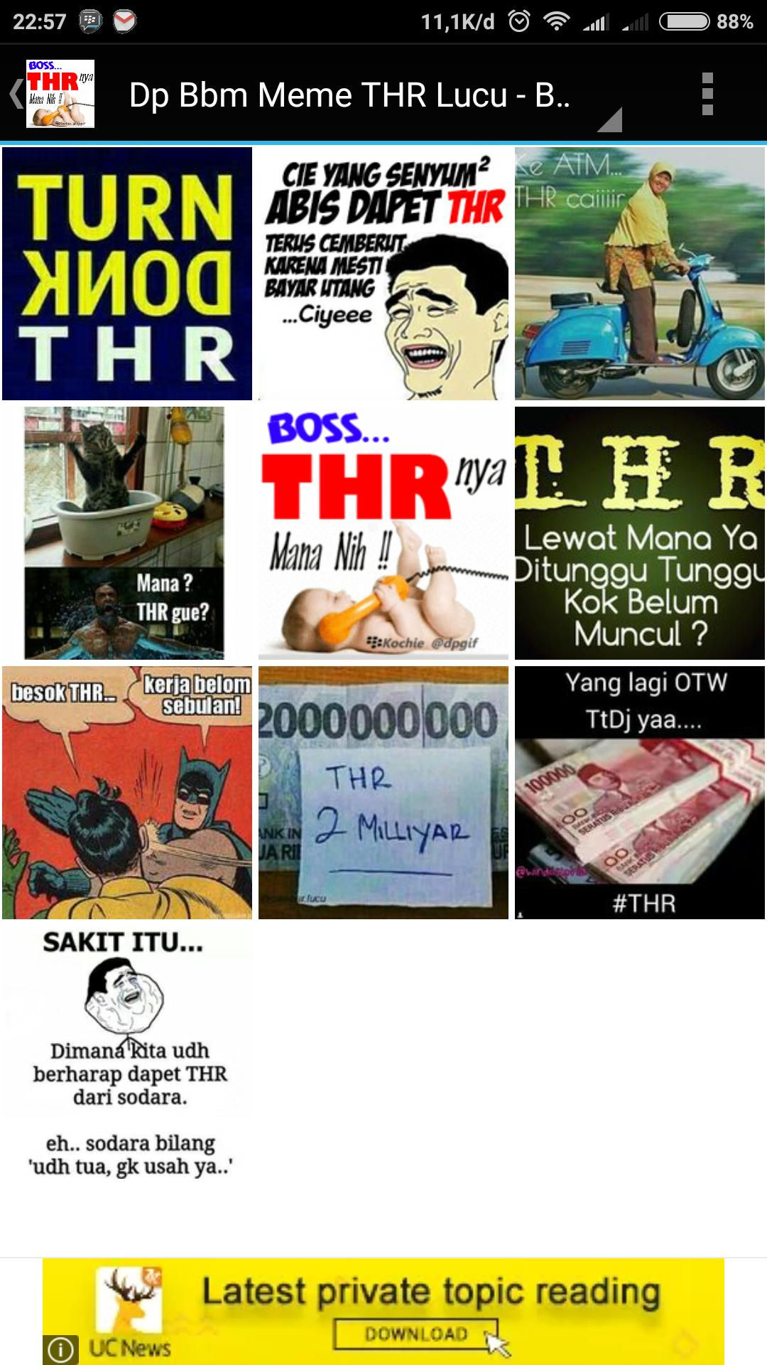 50 Dp Bbm Meme THR Lucu For Android APK Download