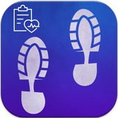 Pedometer Calorie Step Counter icon