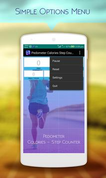 Pedometer Calorie Step Counter apk screenshot