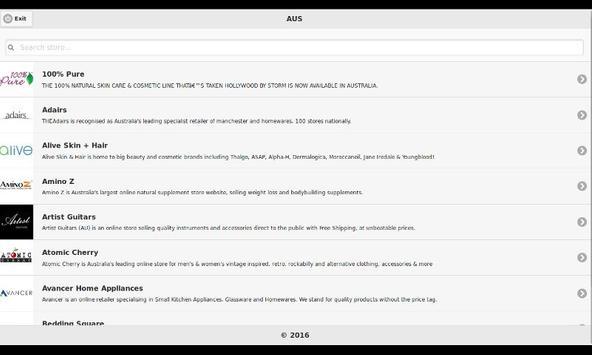 Australia Shopping App screenshot 1