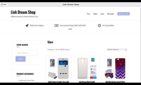 LDS: Link Dream Shop apk screenshot