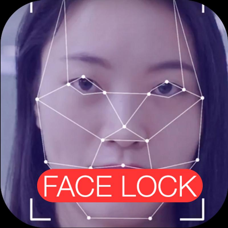Face lock screen black style 2 for android apk download.