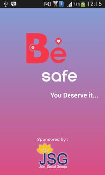 Be Safe poster