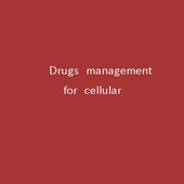 Drugs management for cellular icon