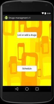 Drugs management for cellular apk screenshot