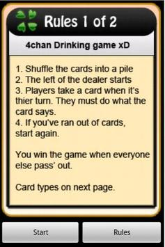4Chan Drinking Game poster