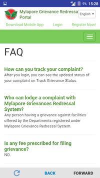 Mylapore Grievance Redressal screenshot 4