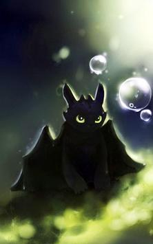 Dragon Toothless Wallpaper New poster