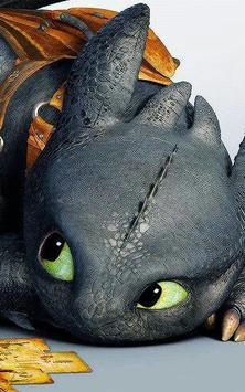 Dragon Toothless Wallpaper New screenshot 2