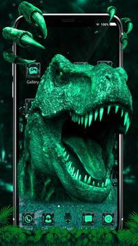 3d World of T-rex poster
