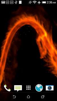 Fire Dragon 3D Wallpaper apk screenshot