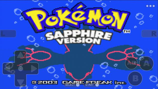 Pokemoon sapphire version - Free GBA Classic Game screenshot 1