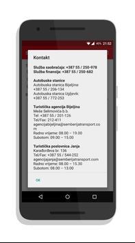 Semberija Transport Red Vožnje apk screenshot