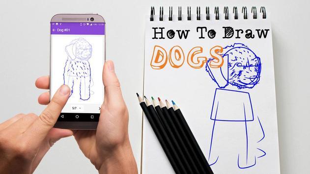 How To Draw Dog apk screenshot