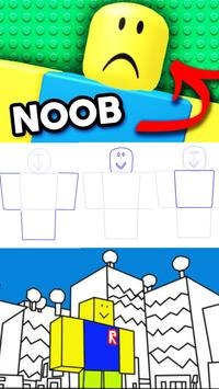 How to draw Roblox poster