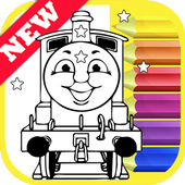 How Draw Coloring for Thomas Train Friends by Fans icon