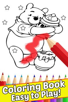How Draw for Winnie the Coloring Bear Pooh by Fans apk screenshot