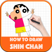 Learn to Draw Anime Shin Chan Step by Step icon
