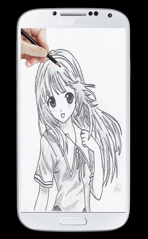 How To Draw Girls Anime For Android Apk Download