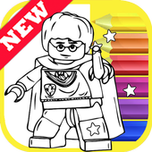 How Draw Coloring for Lego Harry Wizards by Fans icon