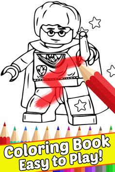 How Draw Coloring for Lego Harry Wizards by Fans poster