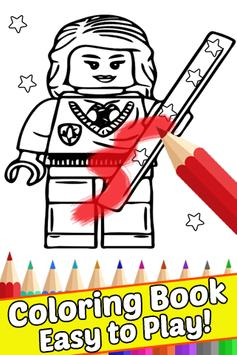 How Draw Coloring for Lego Harry Wizards by Fans screenshot 1