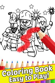 How Draw Coloring for Lego Harry Wizards by Fans screenshot 2