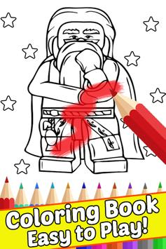 How Draw Coloring for Lego Harry Wizards by Fans screenshot 3