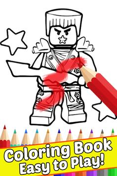 How Draw Coloring for NinjaGo by Fans screenshot 1