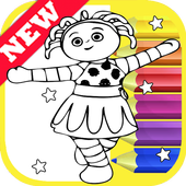How Draw Coloring In The Night Best Garden by Fans icon