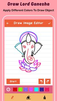 Draw Lord Ganesha Sketch screenshot 2