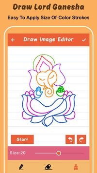 Draw Lord Ganesha Sketch screenshot 3