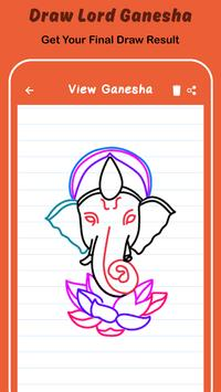 Draw Lord Ganesha Sketch screenshot 4