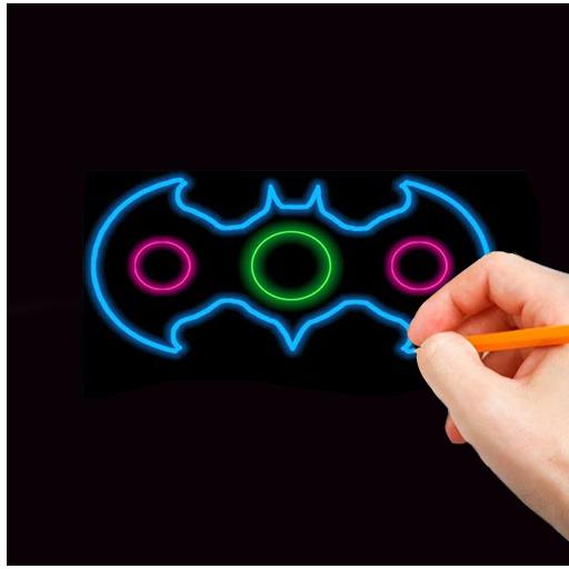 Draw Fidget Spinner HD