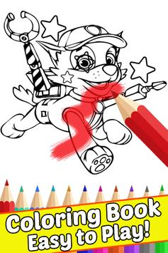 How Draw Coloring Paw for Patrol by Fans poster