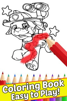 How Draw Coloring Paw for Patrol by Fans apk screenshot