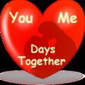 Days together widget wallpaper